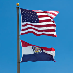 Missouri Flags by USA Flag Co.