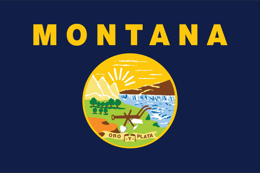 Montana Flag by USA Flag Co.
