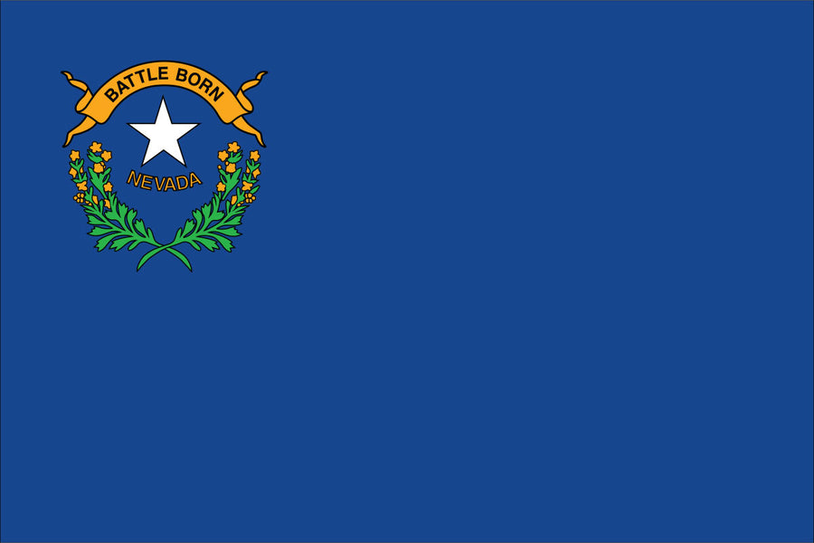 Nevada Flag by USA Flag Co.