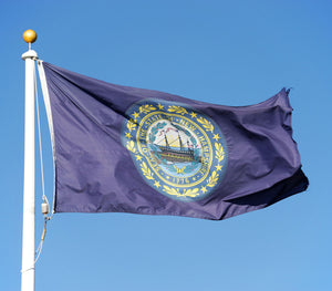 New Hampshire Flags by USA Flag Co.