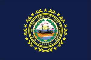 New Hampshire State Flag by USA Flag Co.