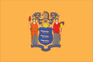 New Jersey State Flag by USA Flag Co.