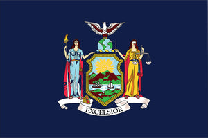 New York State Flag by USA Flag Co.