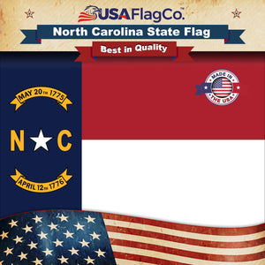 North Carolina Flag by USA Flag Co.