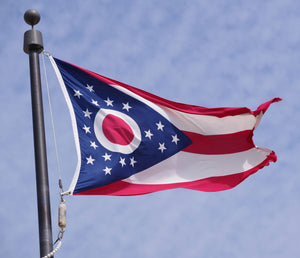 Ohio Flags by USA Flag Co.