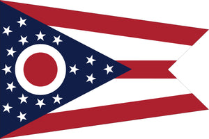 Ohio State Flag by USA Flag Co.