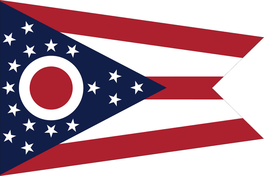 Ohio Flag by USA Flag Co.