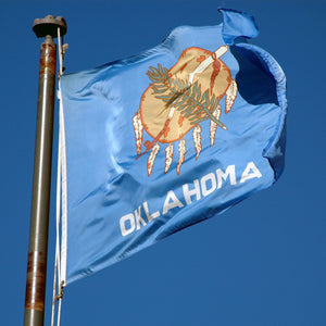 Oklahoma Flags by USA Flag Co.