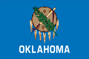 Oklahoma State Flag by USA Flag Co.