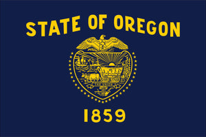 Oregon State Flag by USA Flag Co.