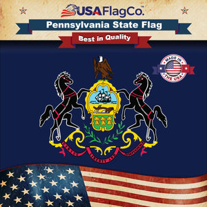 Pennsylvania Flag by USA Flag Co.