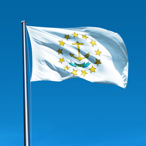 Rhode Island Flags by USA Flag Co.