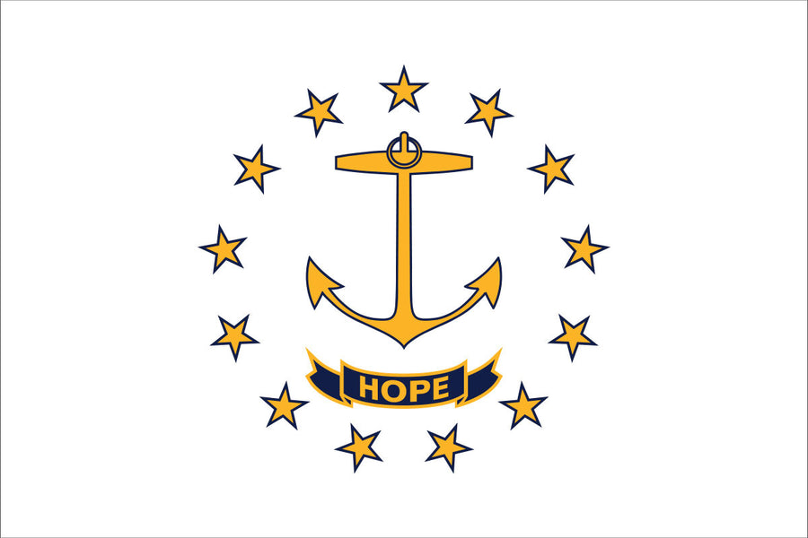 Rhode Island Flag by USA Flag Co.