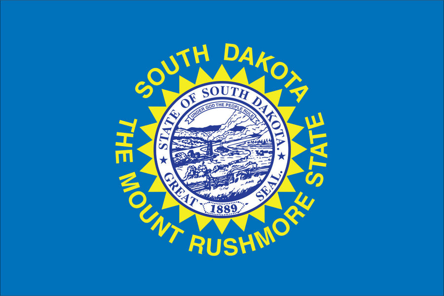 South Dakota Flag by USA Flag Co.