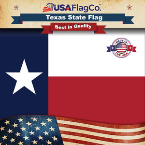 Texas Flag by USA Flag Co.