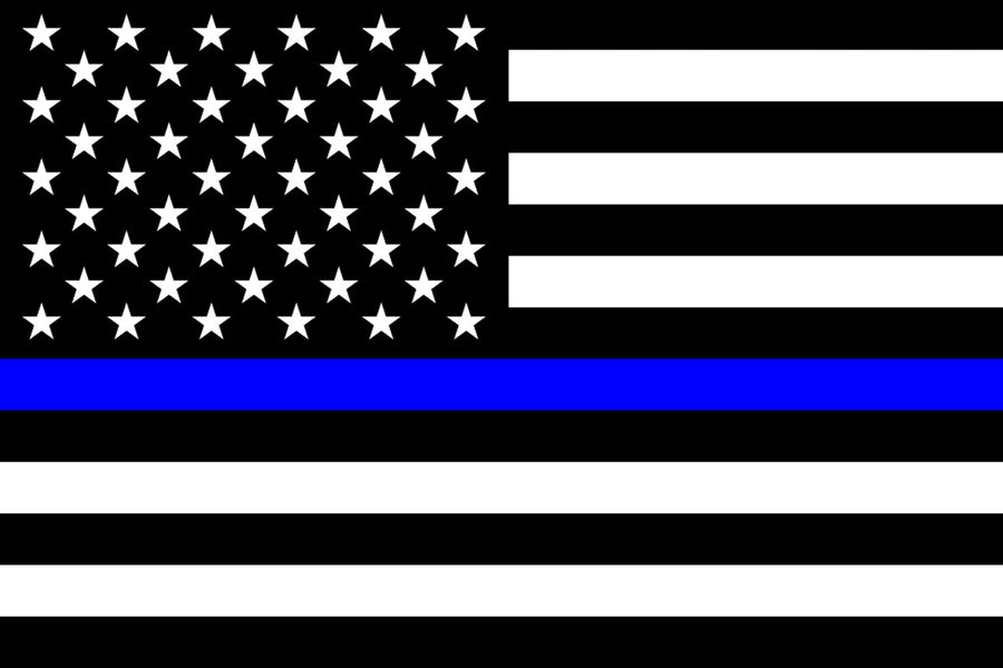 Thin Blue Line Flag by USA Flag Co.