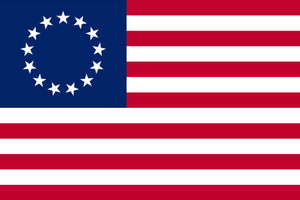 US Betsy Ross Flag by USA Flag Co.
