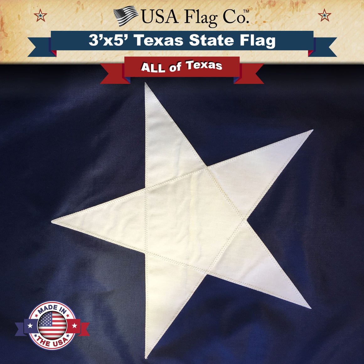 Texas State Flag - The Lone Star Flag