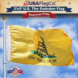 Dont Tread On Me Flag by USA Flag Co.