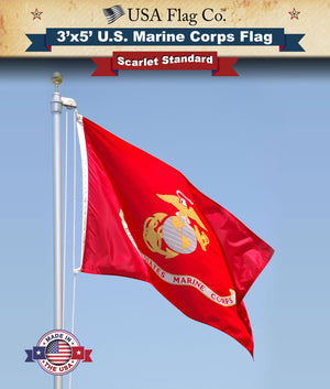 Outdoor Marine Flag by USA Flag Co.
