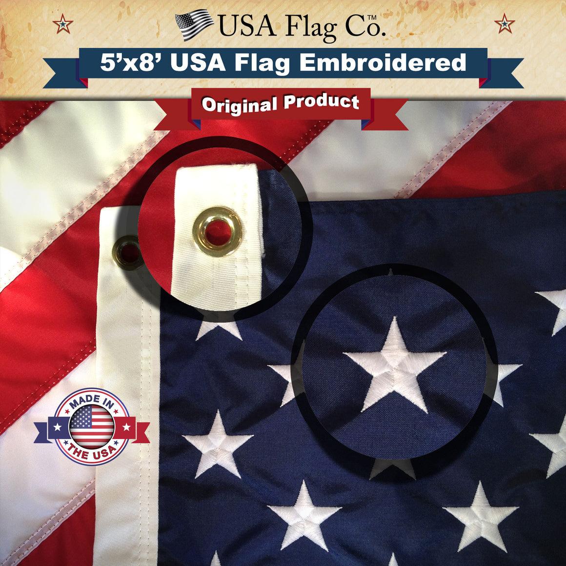 American Flags Made in USA