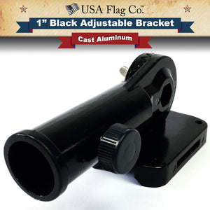 Black Flag Pole Mount by USA Flag Co.