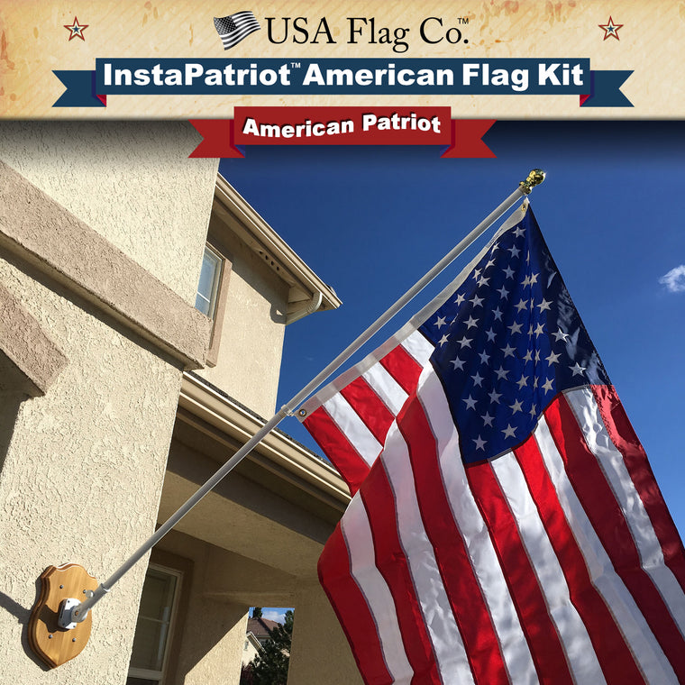 InstaPatriot™ American Flag Kit by USA Flag Co.