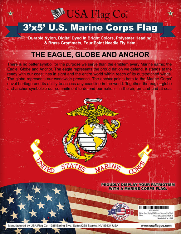 Marine Corps Flag (3x5 foot)