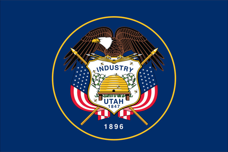 Utah Flag by USA Flag Co.