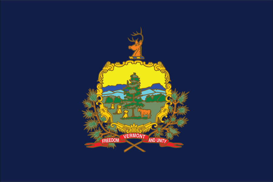 Vermont Flag by USA Flag Co.