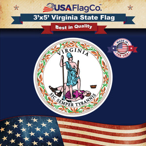 Virginia Flag by USA Flag Co.