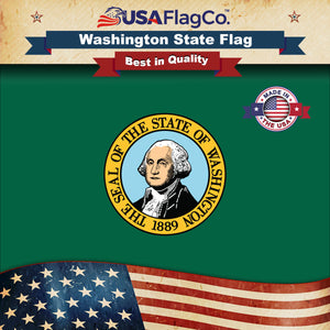 Washington Flag by USA Flag Co.