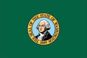 Washington State Flag by USA Flag Co.