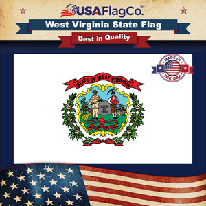 West Virginia Flag by USA Flag Co.