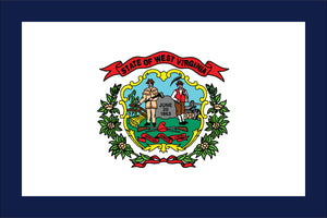 West Virginia State Flag by USA Flag Co.