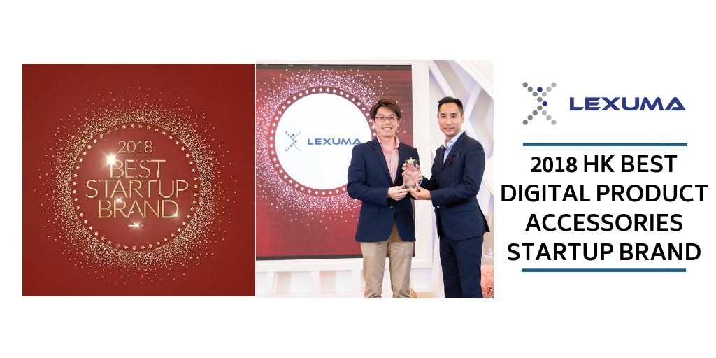 Lexuma - Winner of 2018 Best Digital Product Accessories Startup Brand