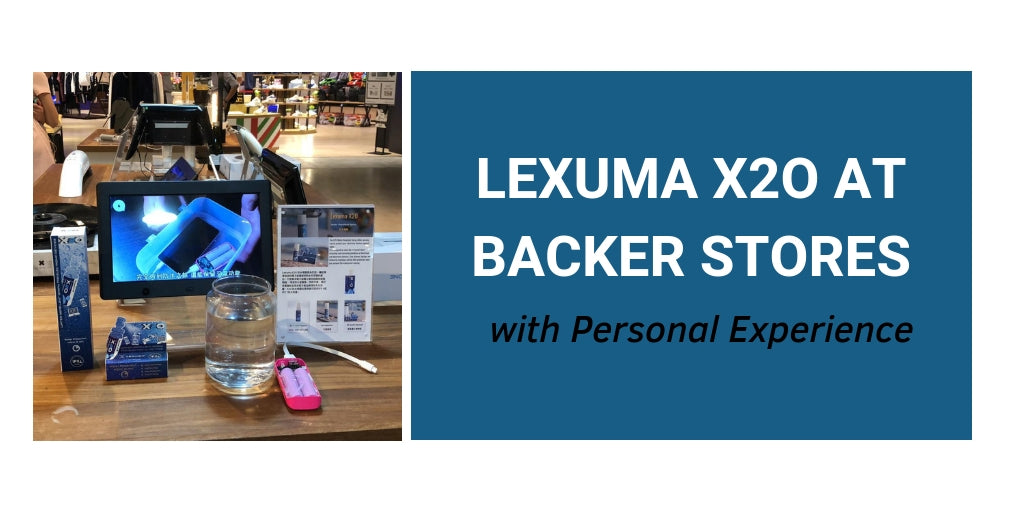 Lexuma X2O Waterproof Spray at Backer Stores in Tsim Sha Tsui