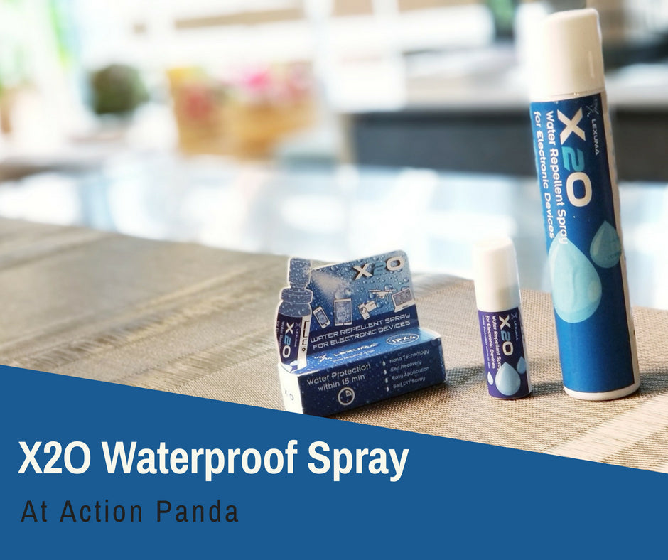 Lexuma X2O Water Repellent Spray is available at Action Panda Retail Store