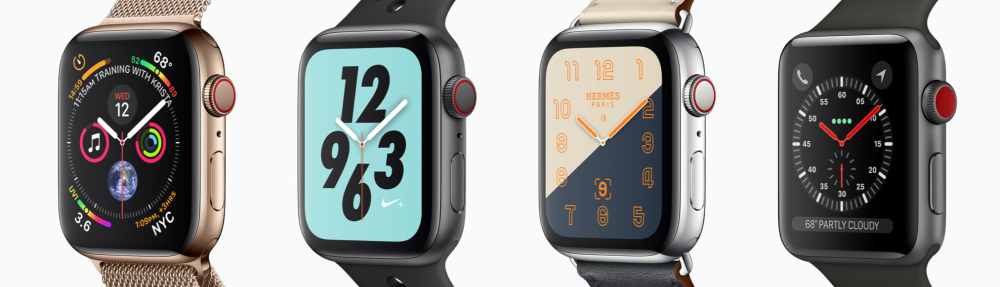 Features And Differences: Apple Watch Series 1-4