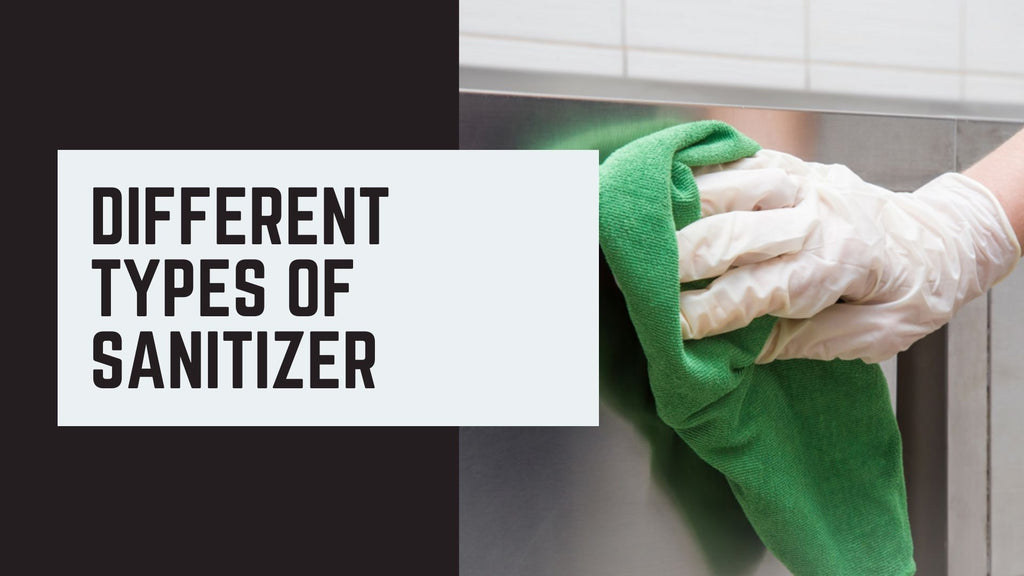 Different Types of Sanitizer