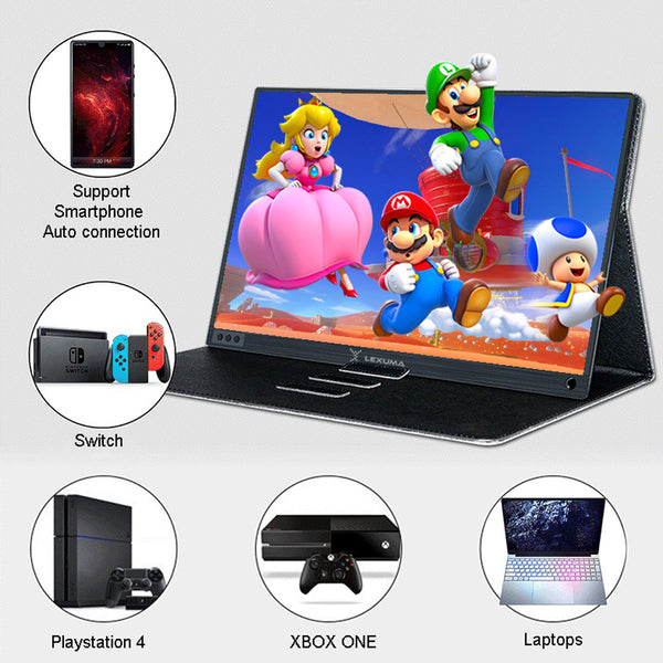 Lexuma 辣數碼 XScreen XSC-1015TP Portable USB Powered Monitor Mini Display Touch Screen 15.6 Inch Slim IPS HD Type-C USB-C Tiny monitor Giant phone 4k Vinpok Split mb169b hp aoc e1759fwu viewsonic td2230 asus mb169c xiaomi black shark phablet external monitor android smartphone gaming console ps4 xbox one s nintendo switch business