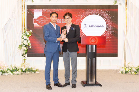 Lexuma Director Kelvin Ip received the 2019 outstanding brand award