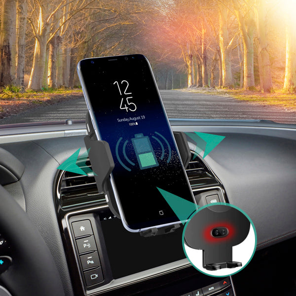 Lexuma 辣數碼 Xmount ACM-1009 Automatic Infrared Sensor Qi fast charging Wireless Car Charger Mount for iPhone samsung mobile phone accessories car smart holder wireless charger station adapter with infrared motion sensor safety driving Auto clamping Universal Car Mount Rotatable Bracket Air Vent Mount scosche stuckup iottie cd mount cigarette lighter wireless vent charger lynktec bolt besthing review