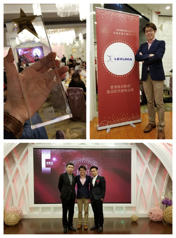 Lexuma辣數碼 Best Startup Brand Award 2018 kelvin ip winning start up brand winner photo taking