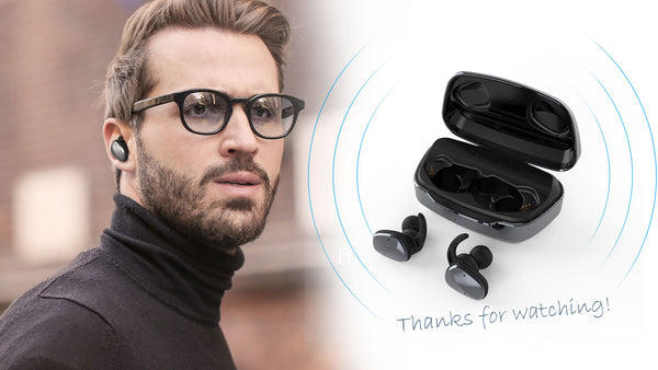 Lexuma XBud2 True Wireless Bluetooth 5.0 Earbuds still retain the greatest feature of XBud wireless earbuds series