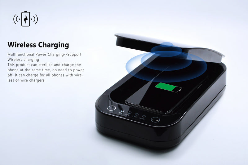 Lexuma-XGerm-Mobile Phone-UV-Sanitizer-m1-phonesoap-bacteria-eliminate-wireless-charge-charging