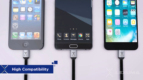Lexuma XMag Magnetic Micro-USB Cable Android