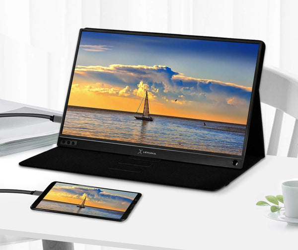 Lexuma 辣數碼 XScreen XSC-1015TP Portable USB Powered Monitor Mini Display Touch Screen 15.6 Inch Slim IPS HD Type-C USB-C Tiny monitor Giant phone 4k Vinpok Split mb169b hp aoc e1759fwu viewsonic td2230 asus mb169c xiaomi black shark phablet external monitor android smartphone gaming console Ps4 Xbox one s Nintendo switch business review on sale