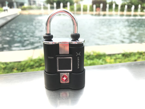 Lexuma 辣數碼 fingerprint padlock - XLOCK travel lock suitcase lock safety lock