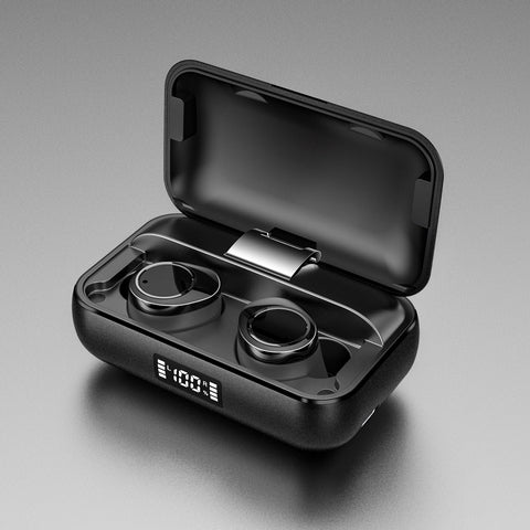 Lexuma Xbud-X true wireless in-ear earbuds wireless earphones headphones bluetooth 5 charging case ultra large battery capacity auto pairing 辣數碼 真無線藍牙耳機 連充電盒 water proof metal design